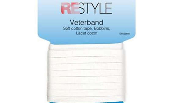 Restyle Veterband 5mm/ 5mtr