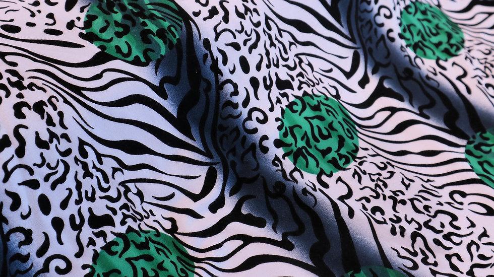 Green Dot Zebra
