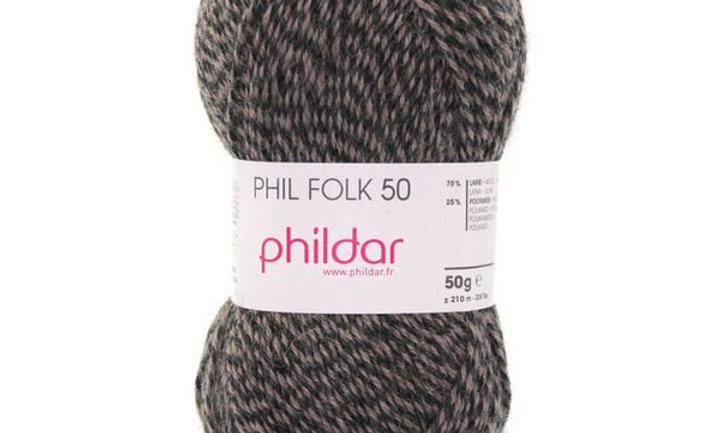 Phil Folk 50 (Sokken wol)