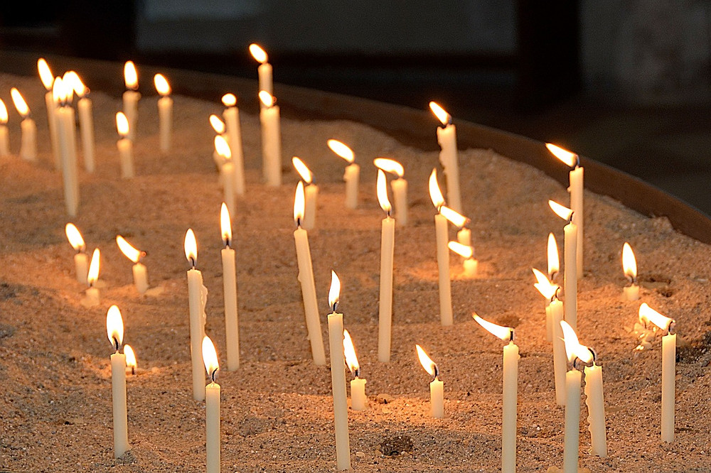 humanist wedding memorial candles deceased loved one