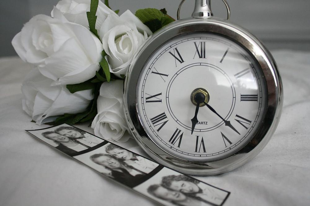 wedding humanist deceased memorial loved one pocketwatch photographs
