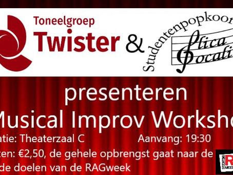 Musical-improvisatie workshop