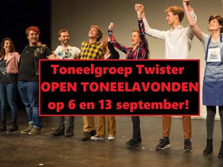 Toneelgroep Twister leren kennen?