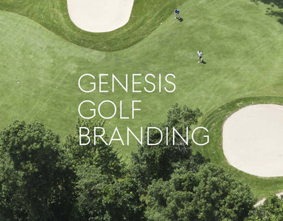 Genesis Golf Sponsorship Branding