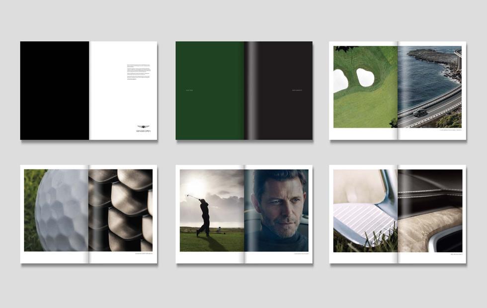 Genesis Golf Manifesto Book