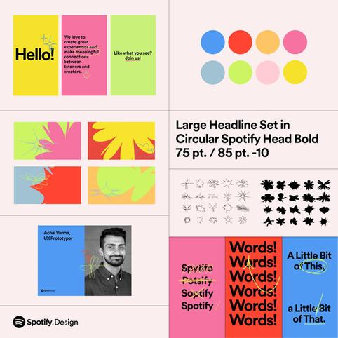 Redesigning Spotify Design