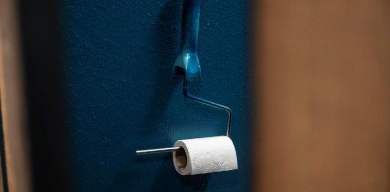 Toilettenpapierhalter öffentliche WC's