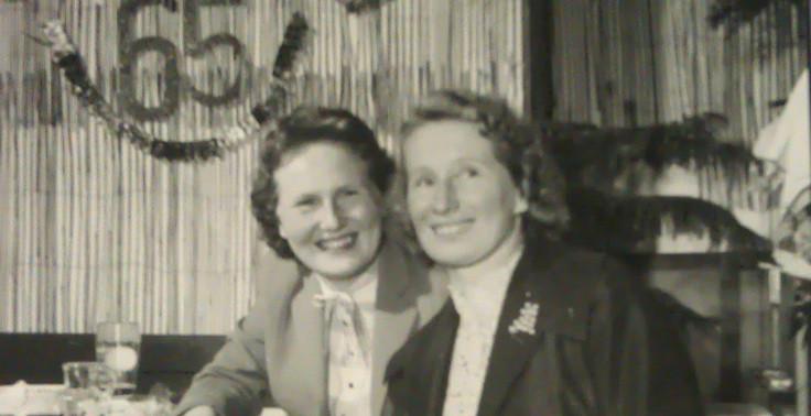 Brigitta und Erna Unsöld ca. 1958
