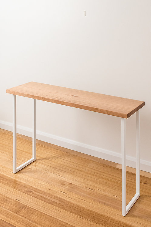 Belle Console - Tasmanian Oak - White Base