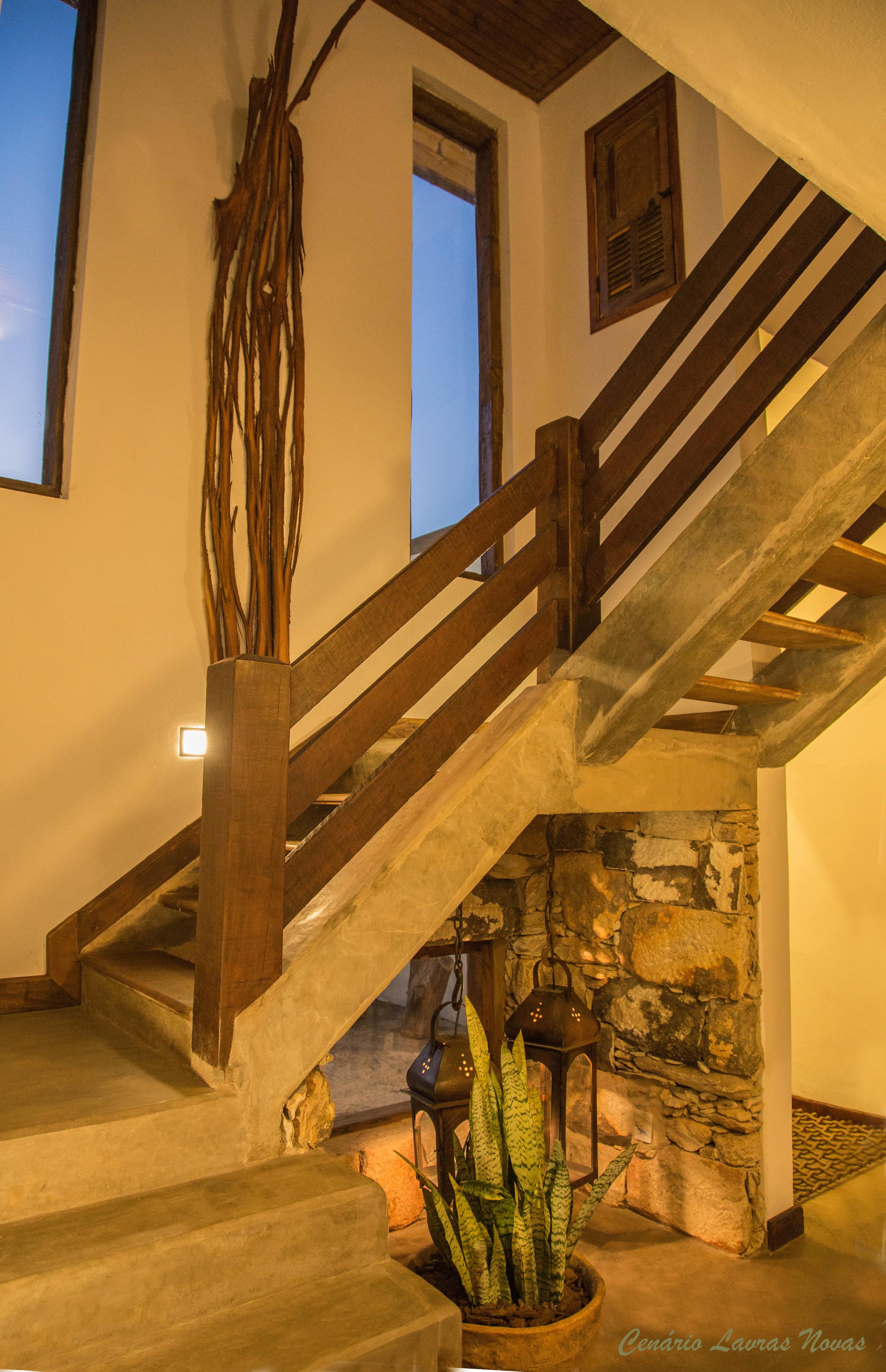 Escada Acesso suite Superior