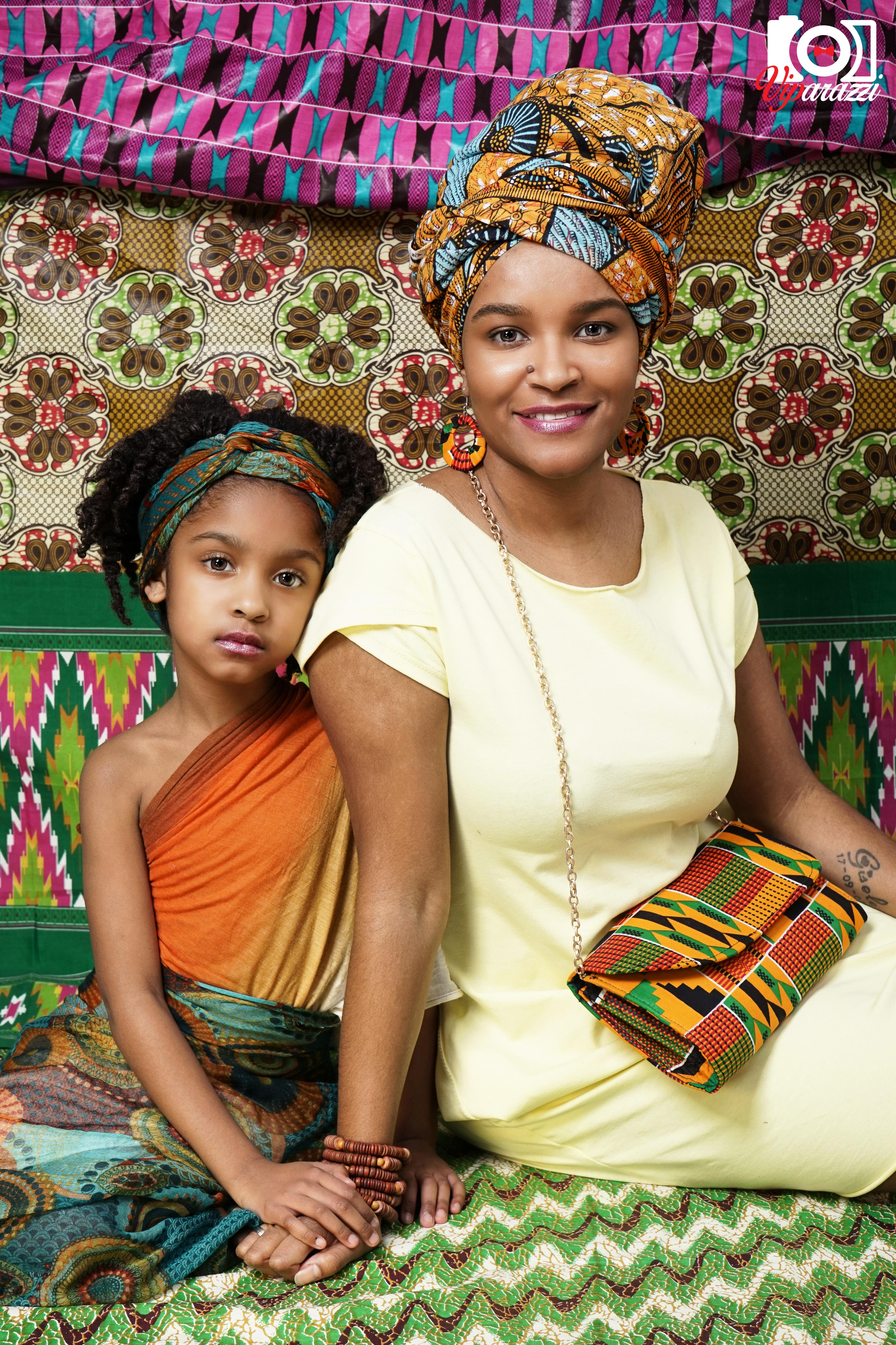 viparazzi -moeder en dochter