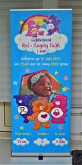 Rollup Banner op aanvraag € 95,-