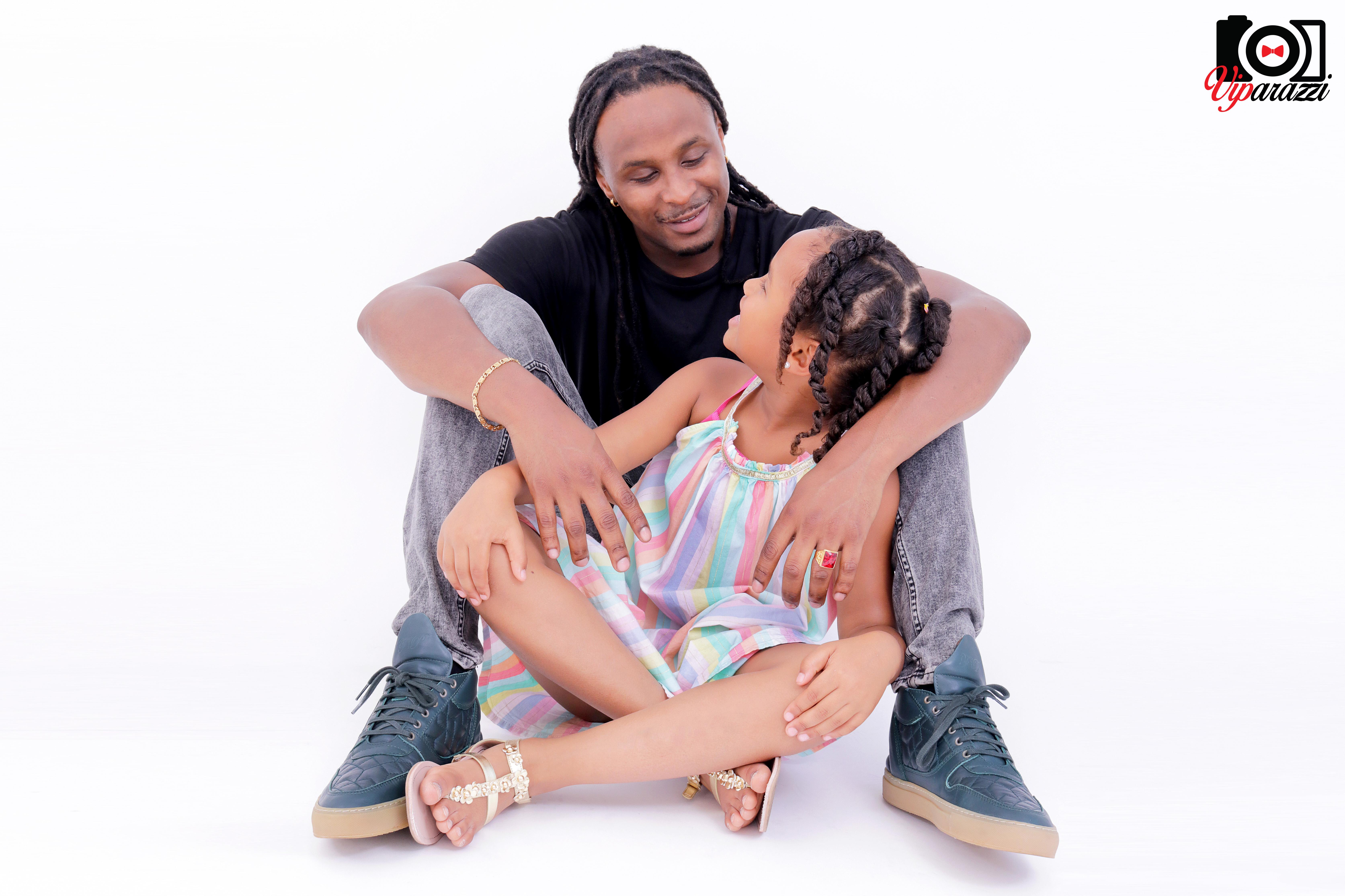 viparazzi -vader met dochter