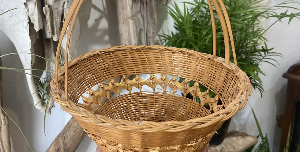 Light wicker basket