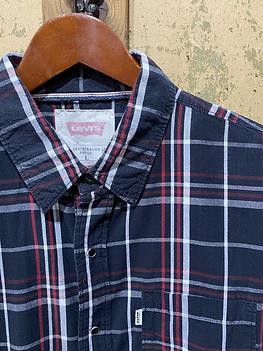 Levis Vintage Button Down Shirt, Plaid