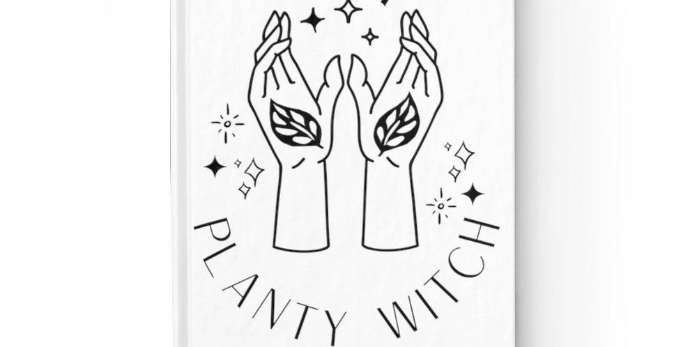 """""""Planty Witch"""" Journal - Blank"""