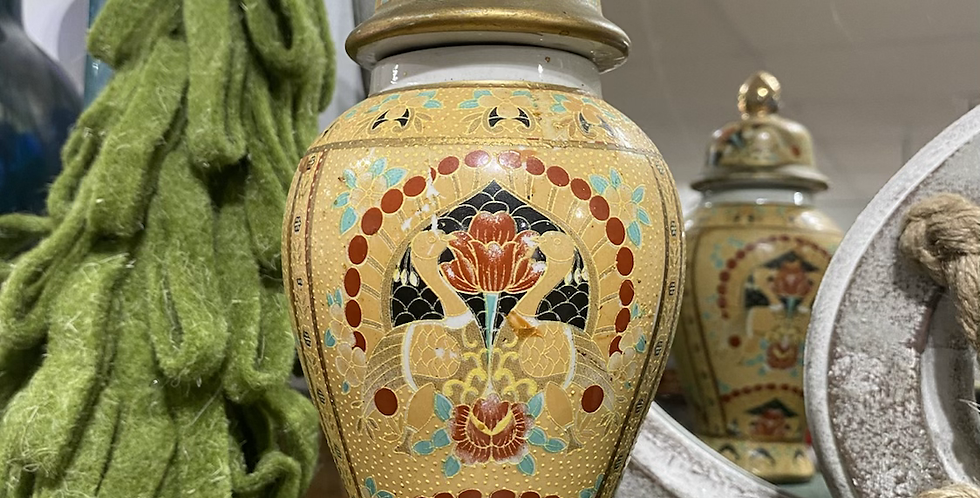 Swan Painted Bottle
