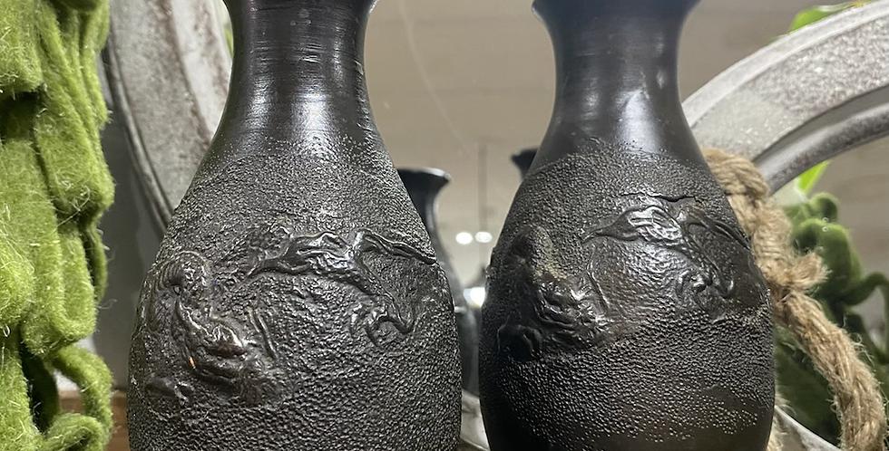 Dragon Vase Pair