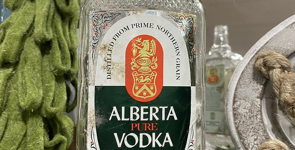 Alberta Vodka Bottle