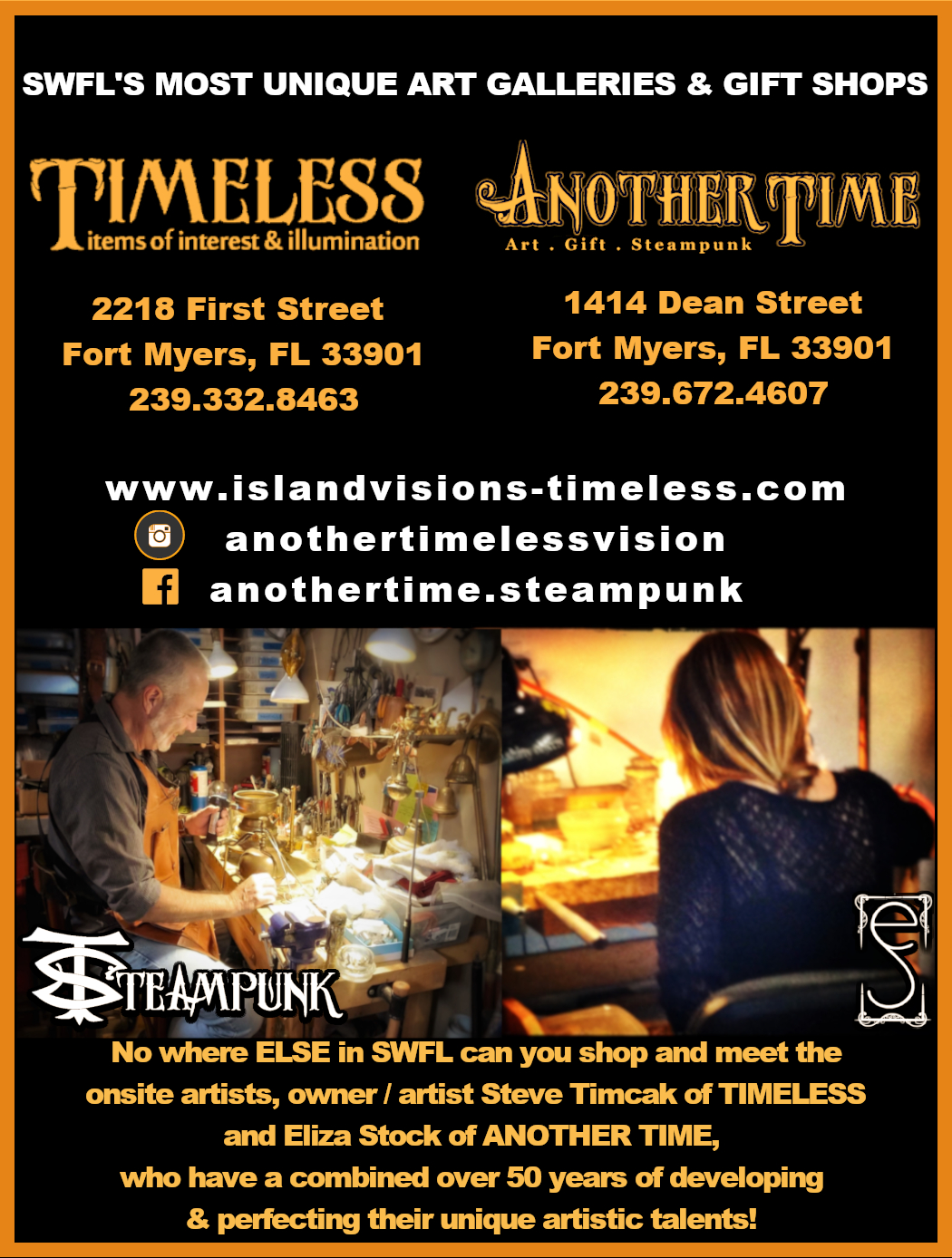 ANOTHER TIME FOR MYERS FL ART GIFT GALLE
