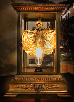 A TIMELESS Steampunk Lamp created in Fort Myers FL