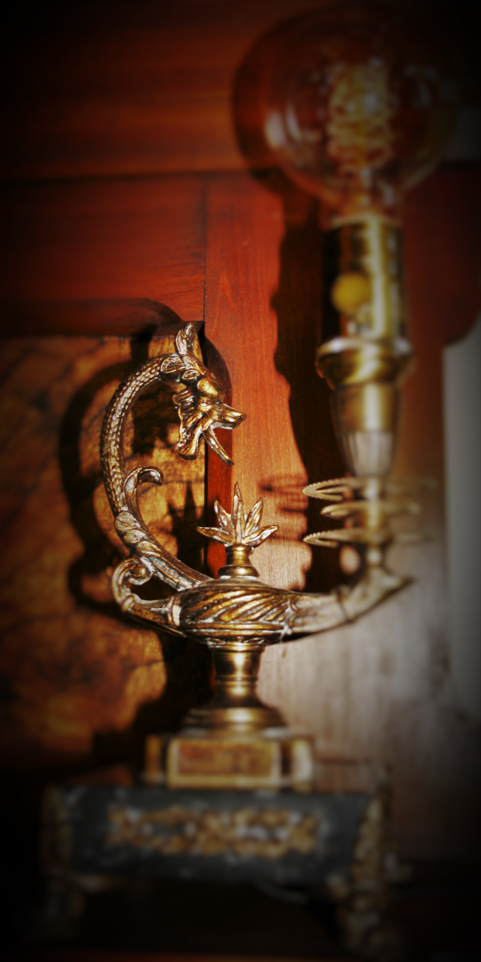 Dragon Genie Lamp