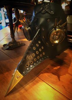 Steampunk Plaque Mask