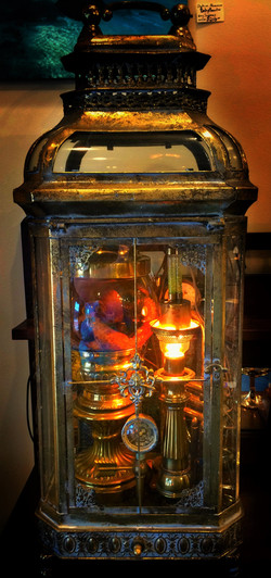 Floating In Time_Steampunk Lamp
