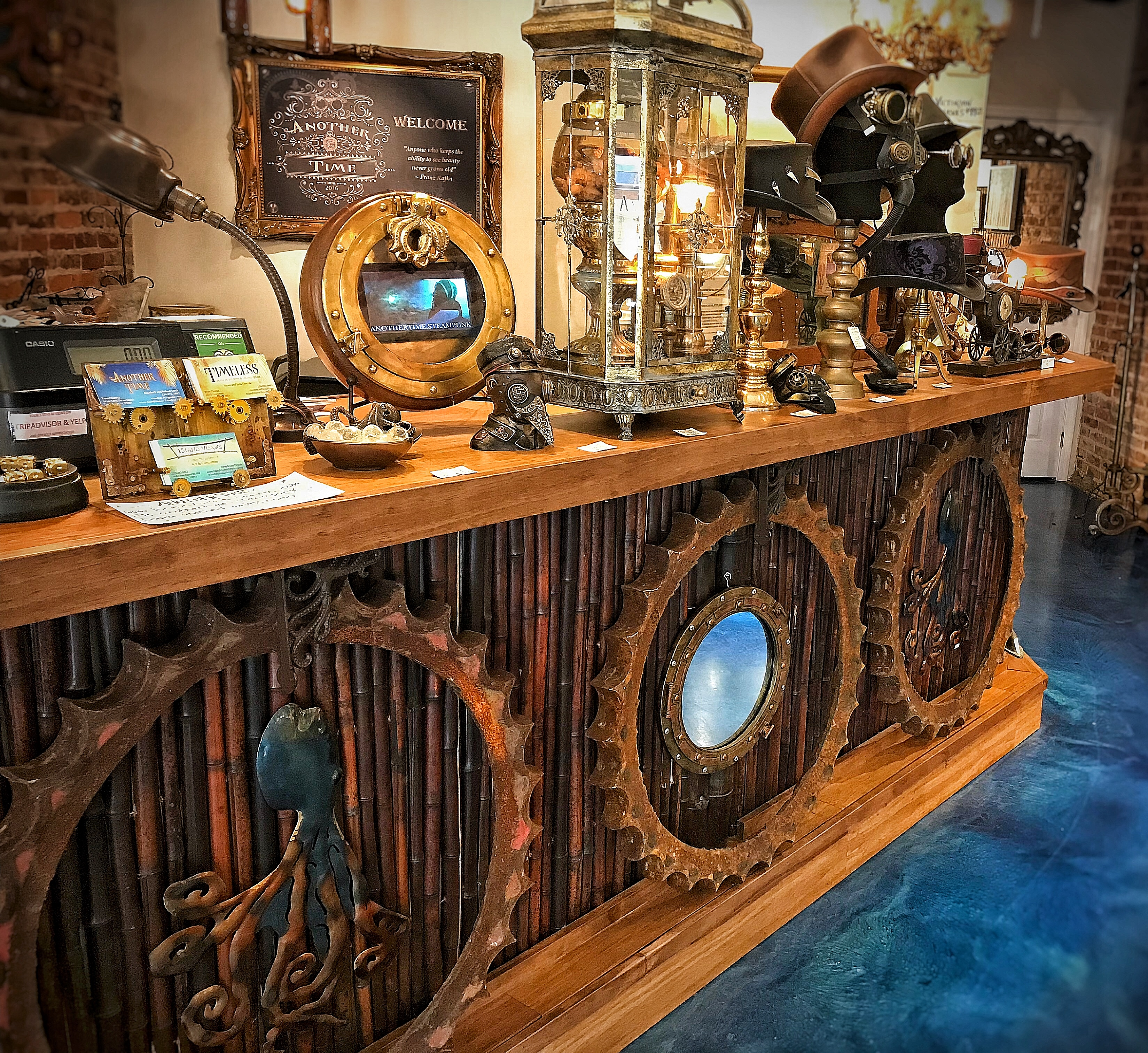 WELCOME TO ANOTHER TIME, FORT MYERS, FL STEAMPUNK ART GALLERY