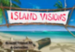 IV BEACH SIGN eclectic tropical art curi