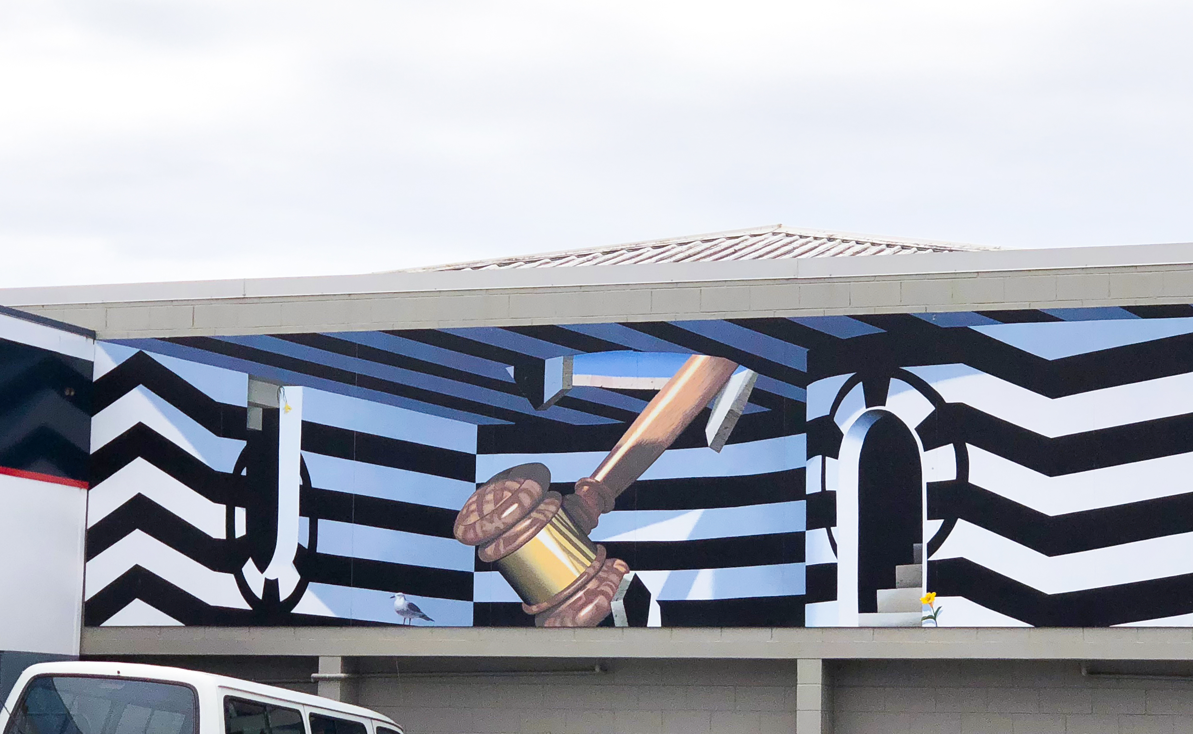 Just Law Building Mural