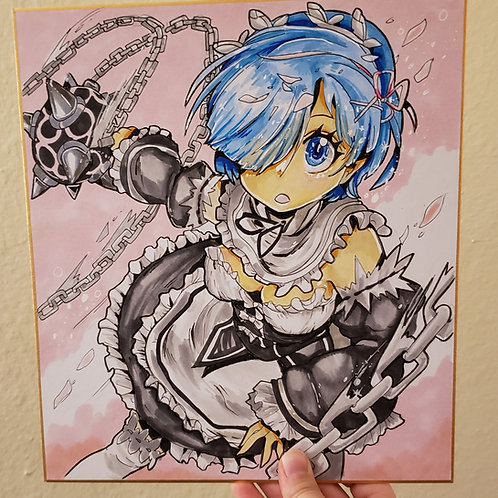 Re: Zero, Rem illustration