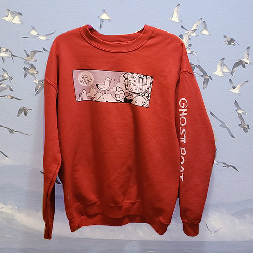 Unisex Bad Seagull crew neck sweater (PRE-ORDER)