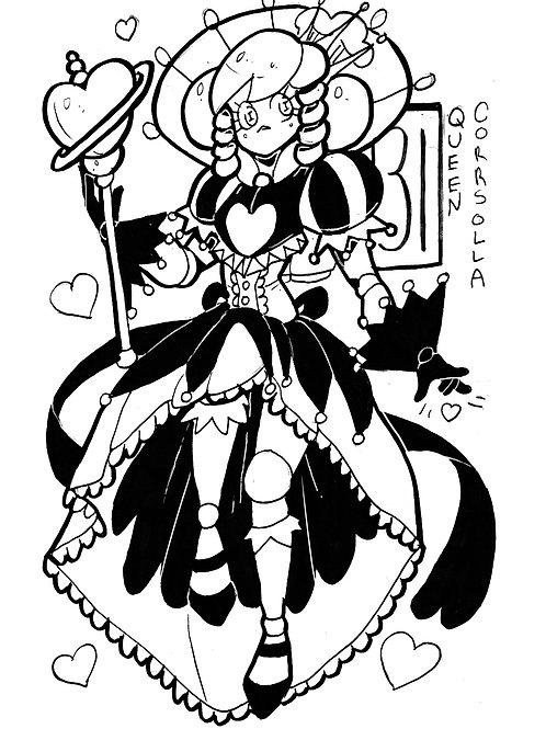 Corrsolla as a queen on bristol
