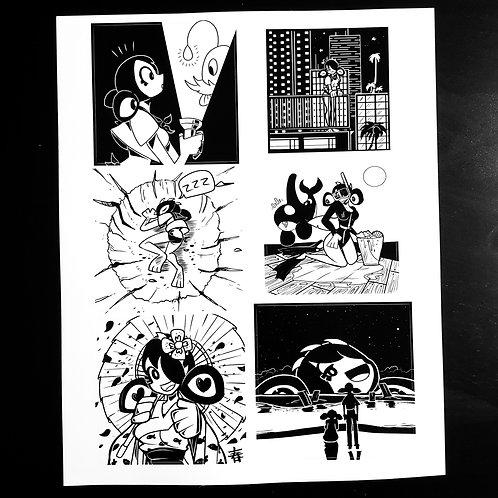 Sticker Sheet 2 (8.5x11'')
