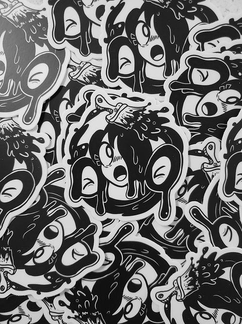 Paint it Black Lulu sticker