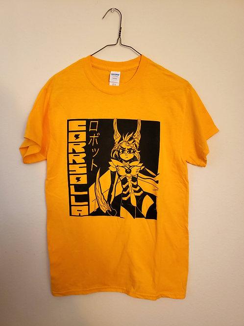 Corrsolla Robot Yellow Shirt