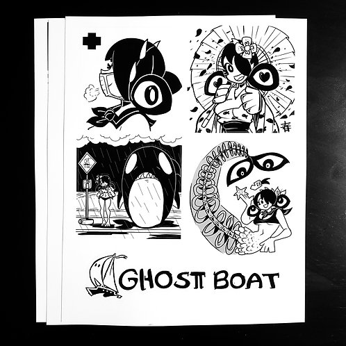 Sticker Sheet 1 (8.5x11'')