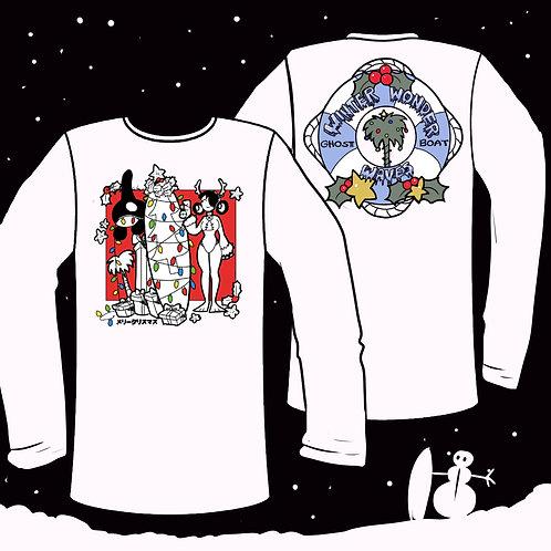 Surfs up Christmas long Shirt PRE-ORDER