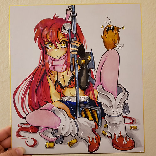 Yoko Littner illustration on Board