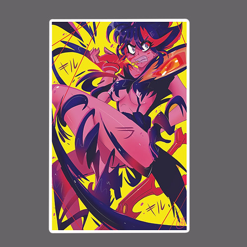 Kill la kill transform sticker