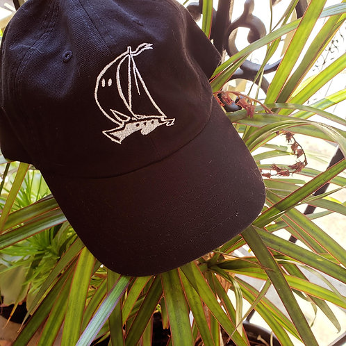 Ghost Boat Logo Dad Hat