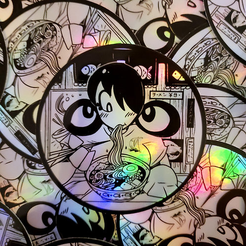 Holographic Lulu Ramen Sticker