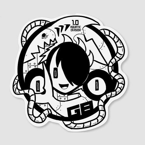 Emblem Sticker (1.0 Aquatic Division)