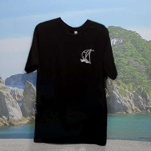 Embroidered Ghost Boat Logo Shirt (PRE-ORDER)