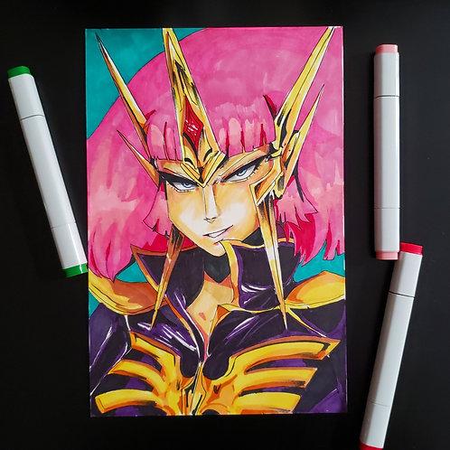 Haman Karn (Double Zeta Gundam) on Bristol