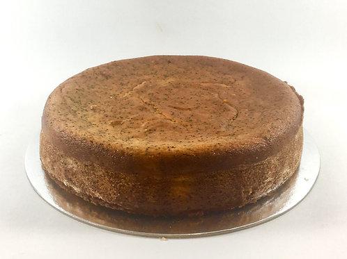 Flourless orange, almond and poppyseed cake