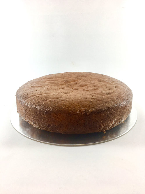 Lemon polenta drizzle tea cake