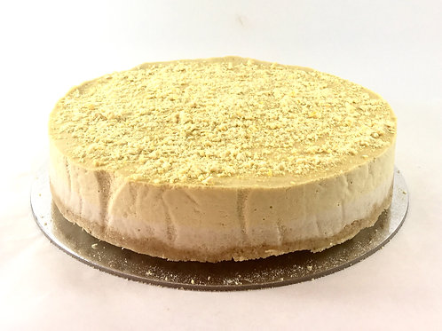 Mango dust mousse cake