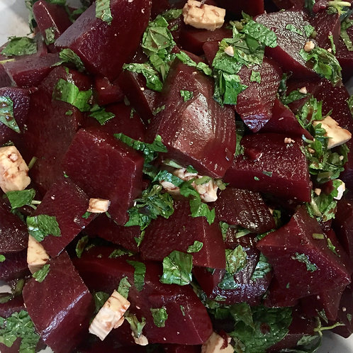 Chunky beetroot salad